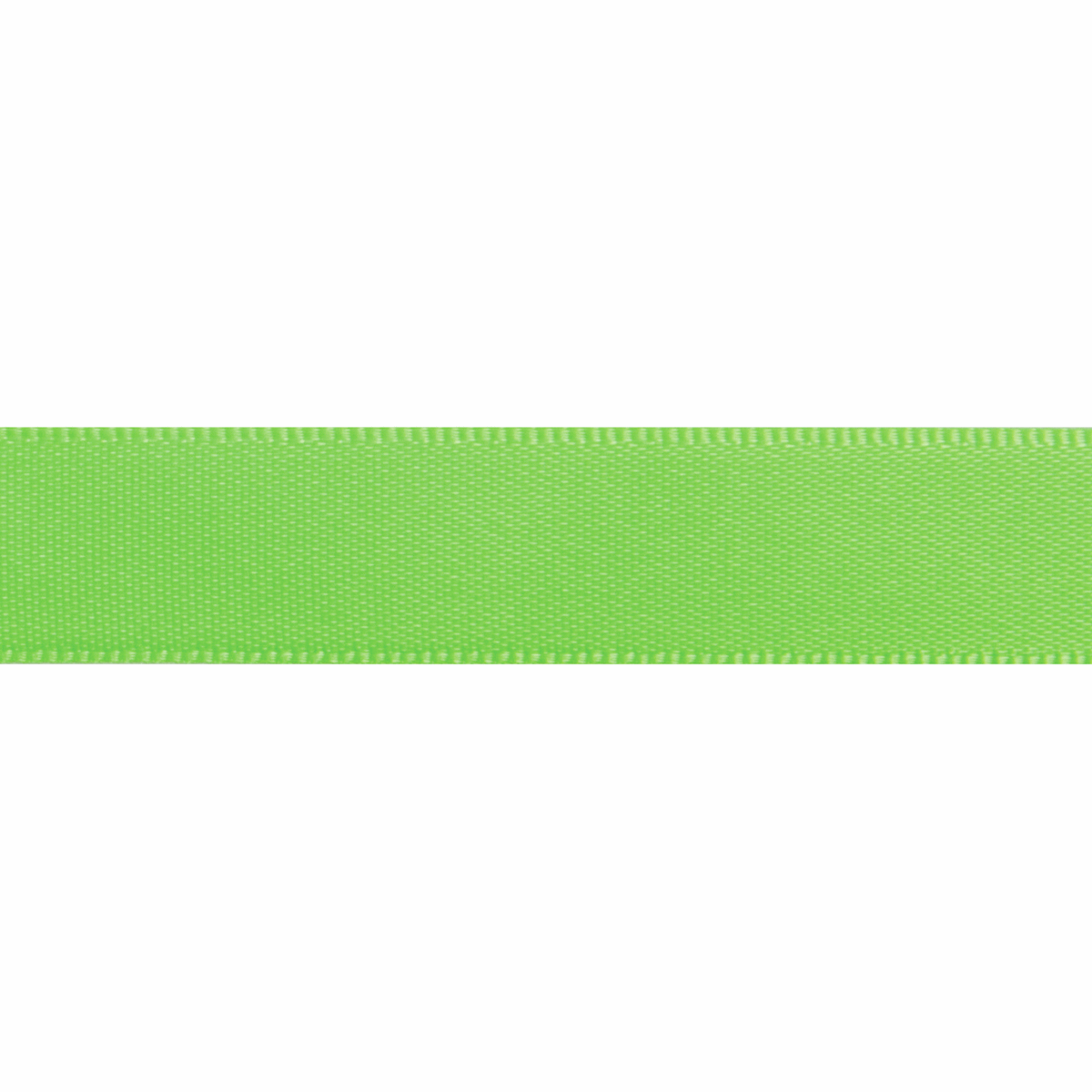 Picture of Satin: 6m x 13mm: Lime Green