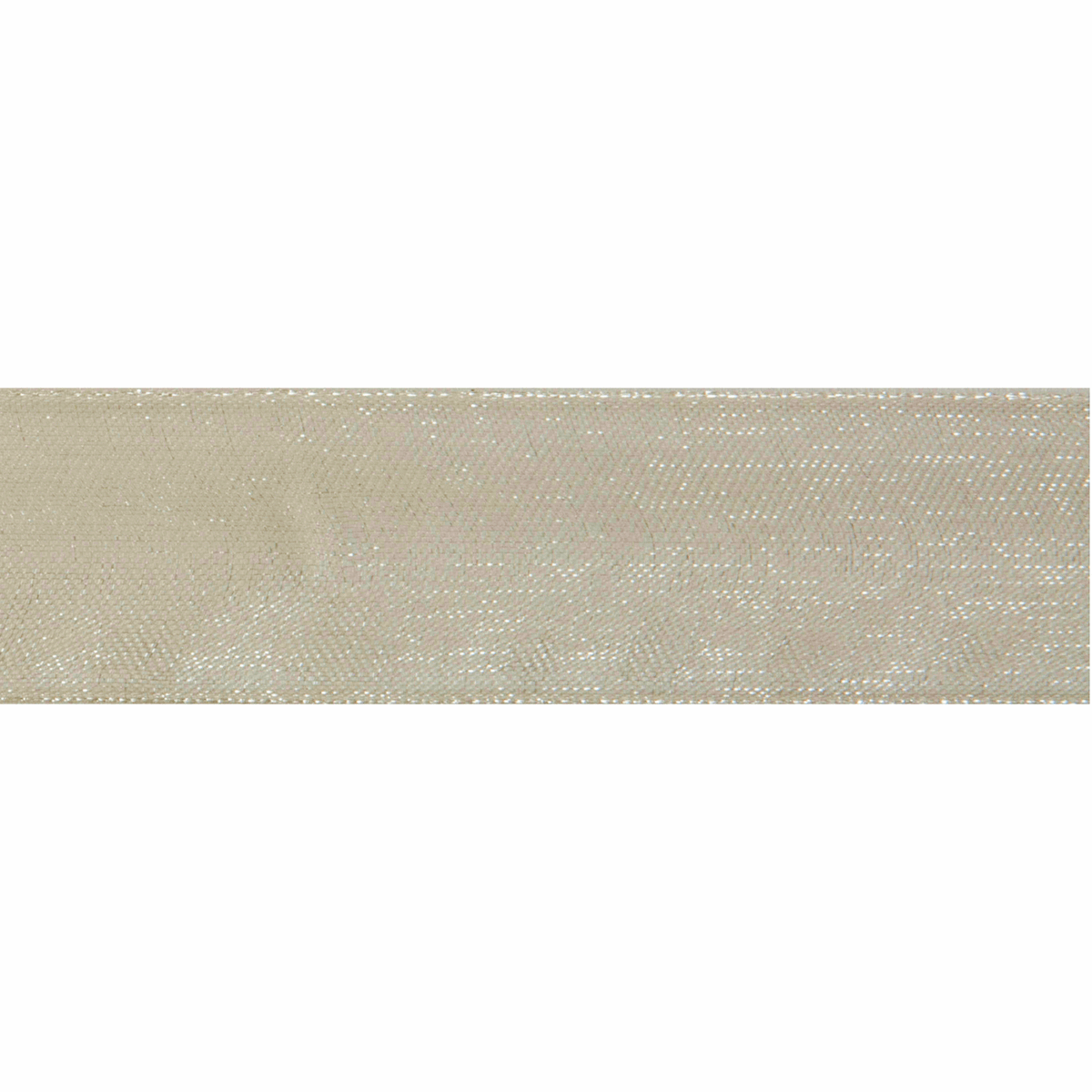 Picture of Organdie: 8m x 6mm: Ivory