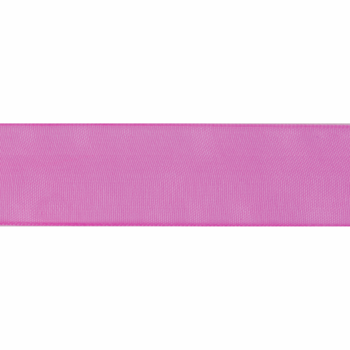 Picture of Organdie: 8m x 6mm: Hot Pink
