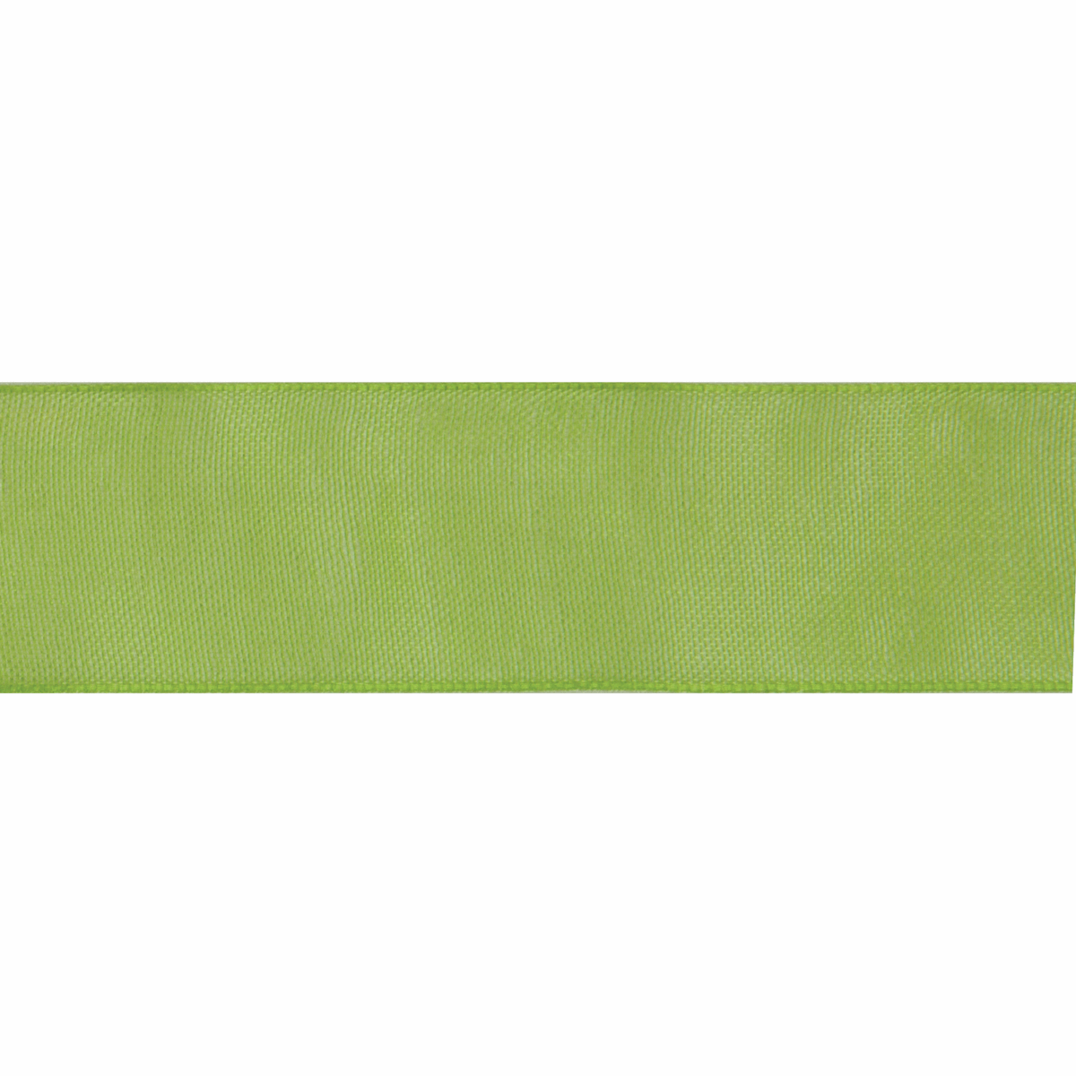 Picture of Organdie: 8m x 6mm: Lime