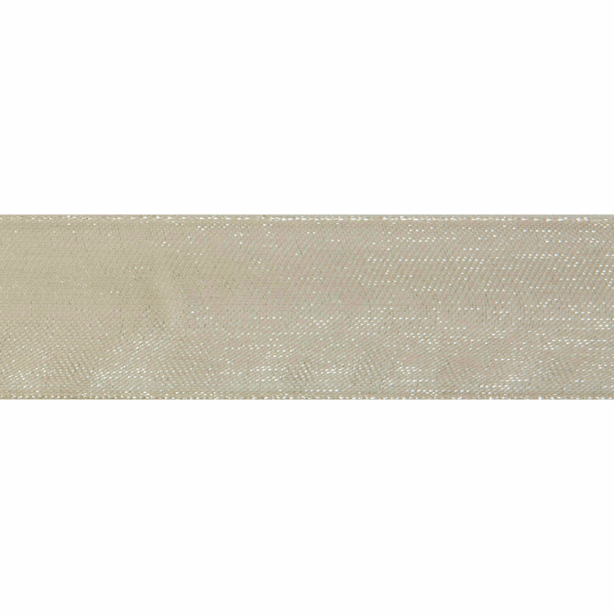 Picture of Organdie: 8m x 9mm: Ivory