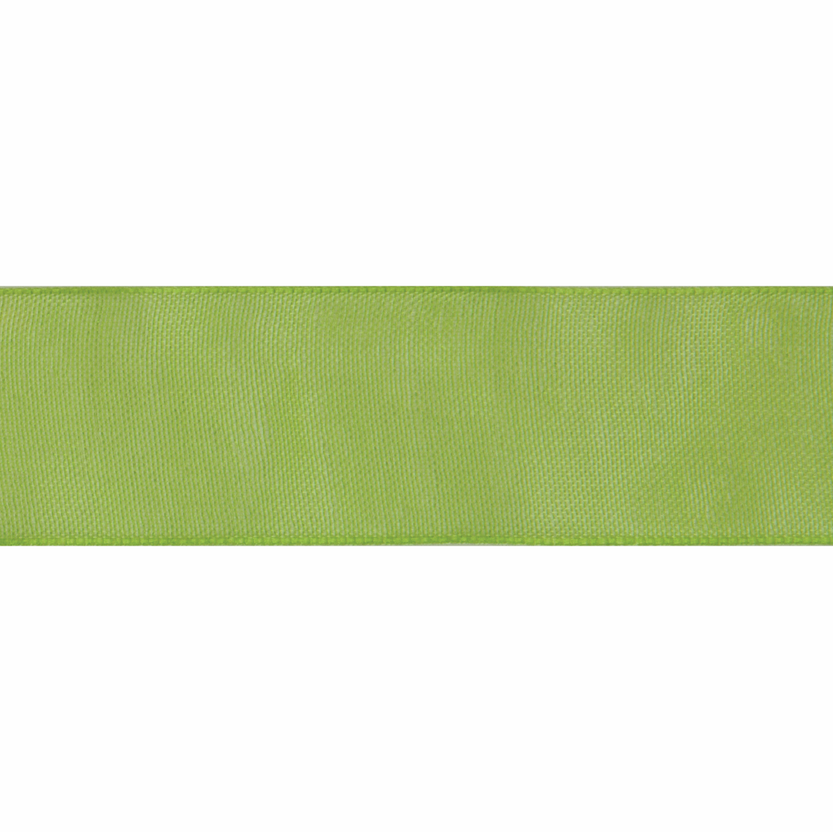 Picture of Organdie: 8m x 9mm: Lime