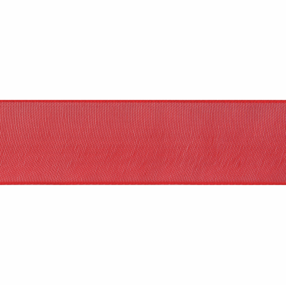 Picture of Organdie: 8m x 9mm: Red
