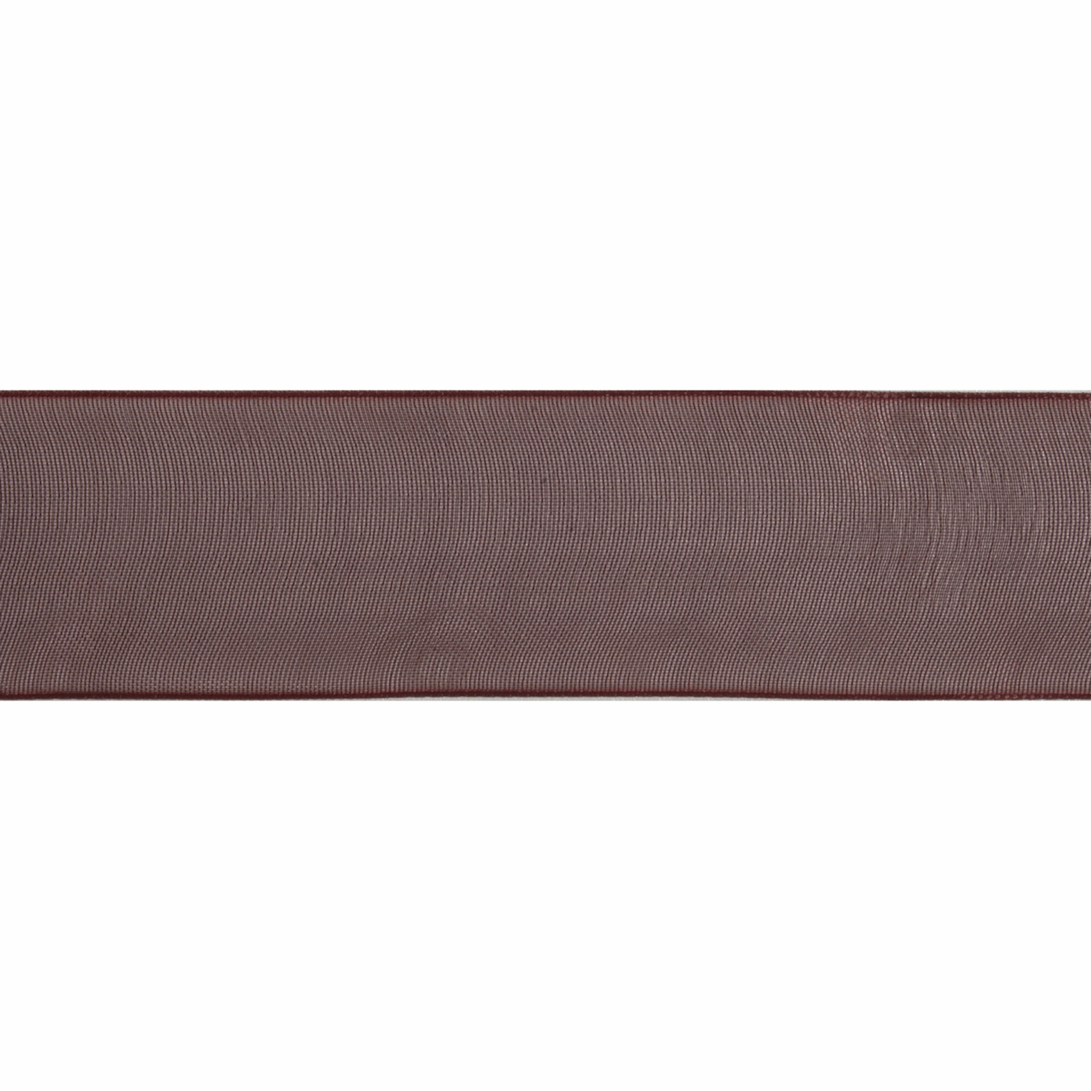 Picture of Organdie: 8m x 9mm: Chocolate