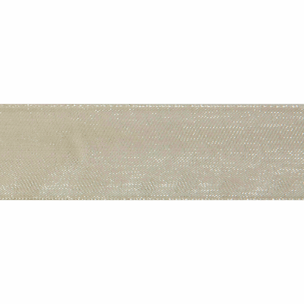 Picture of Organdie: 6m x 12mm: Ivory