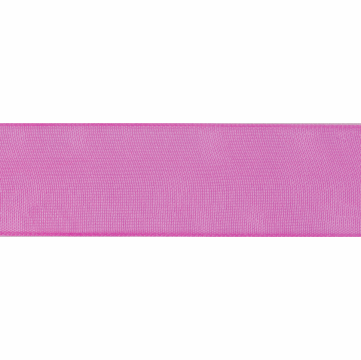 Picture of Organdie: 6m x 12mm: Hot Pink