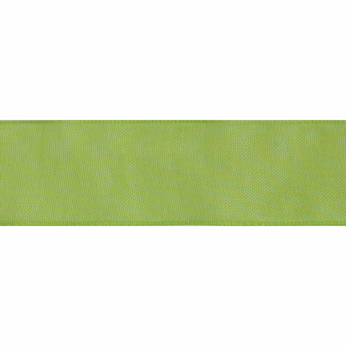 Picture of Organdie: 6m x 12mm: Lime