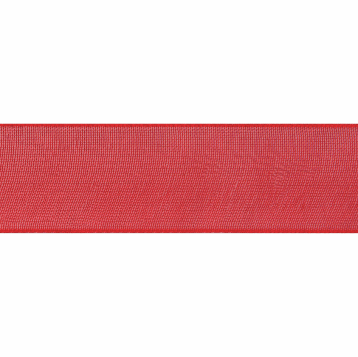 Picture of Organdie: 6m x 12mm: Red