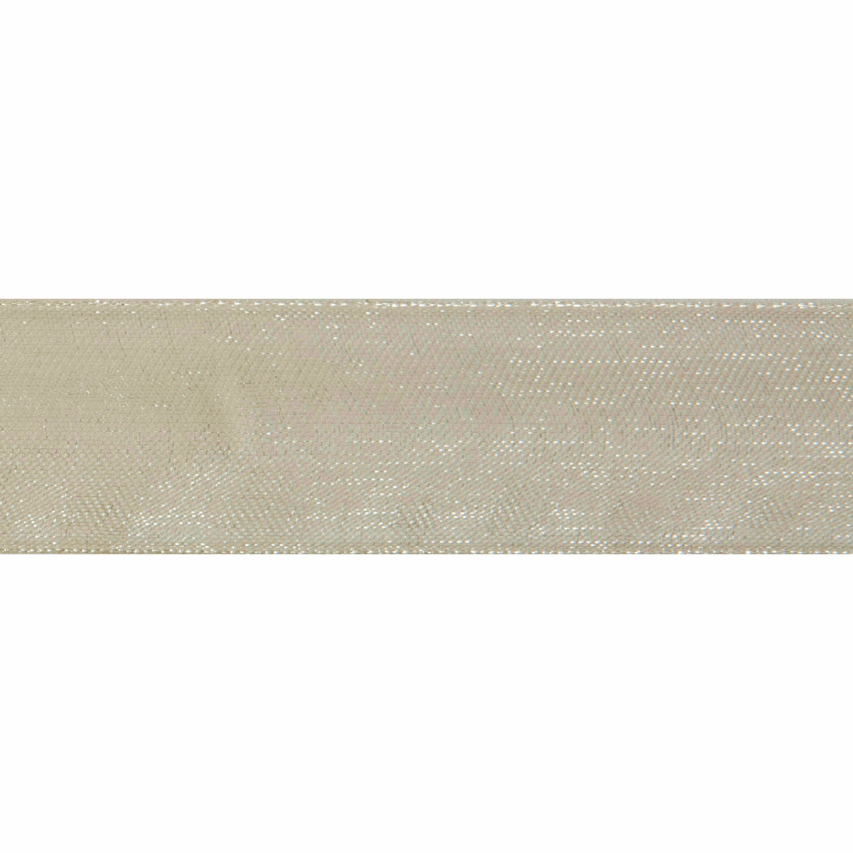 Picture of Organdie: 5m x 20mm: Ivory