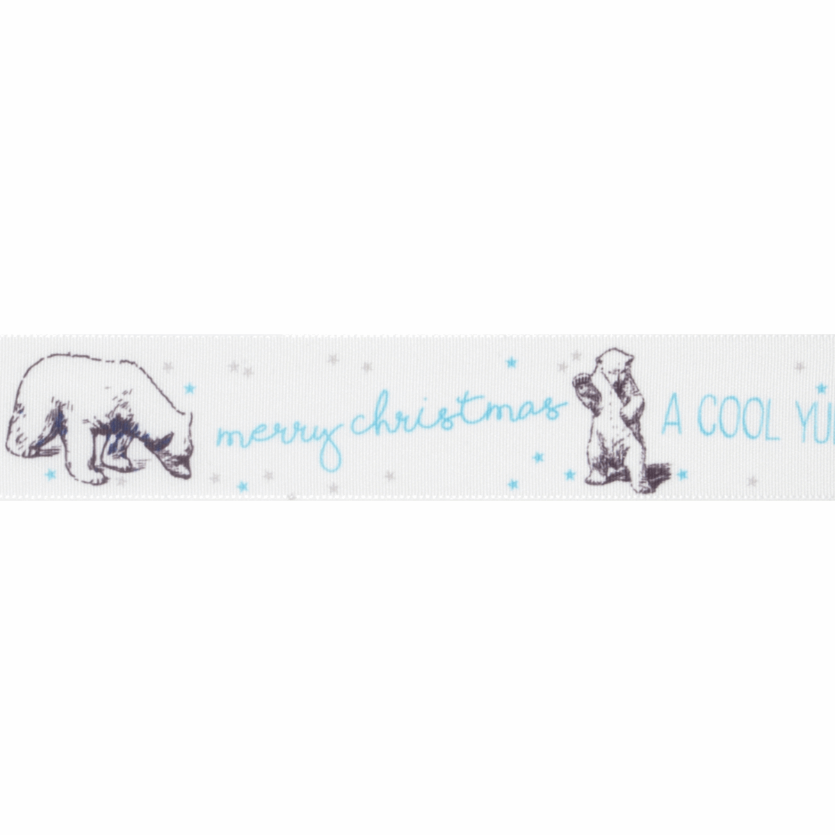 Picture of Exclusive to Groves: Polar Bear: 25m x 25mm: White