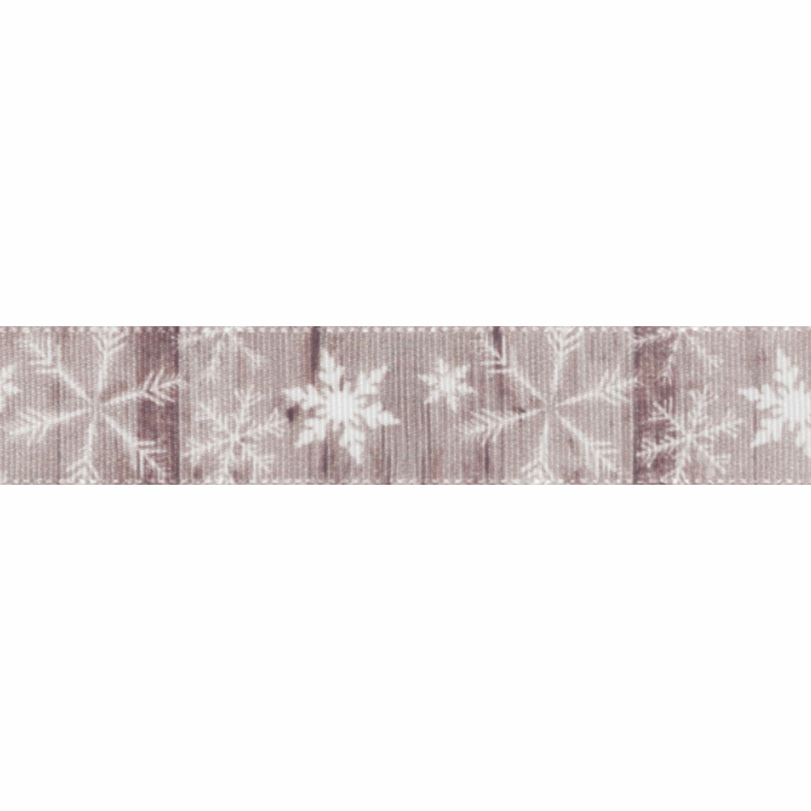 Picture of Exclusive to Groves: Snowflakes: 25m x 15mm: Multi