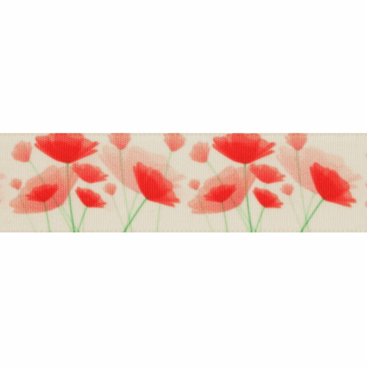 Picture of Exclusive to Groves: Painted Poppy: 25m x 25mm: Multi