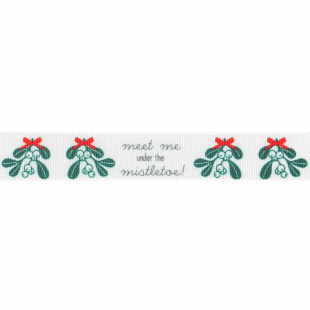Picture of Exclusive to Groves: Meet Me Under the Mistletoe: 25m x 15mm: Multi
