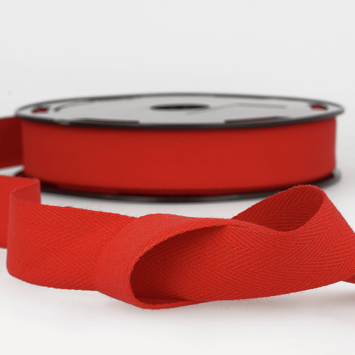 Picture of Twill Tape: Cotton: 25m x 11mm: Red