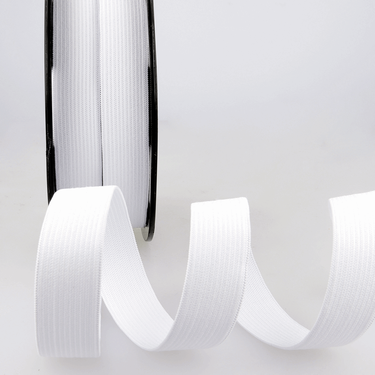 Picture of Elastic Ribbon: 50m x 5mm: White