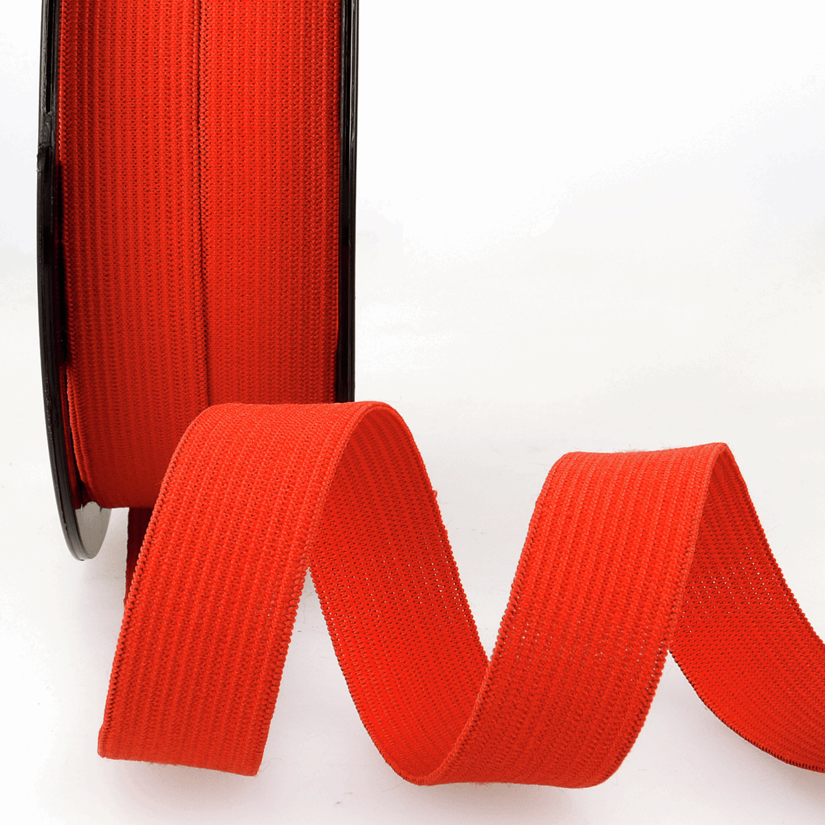 Picture of Elastic Ribbon: 50m x 5mm: Red