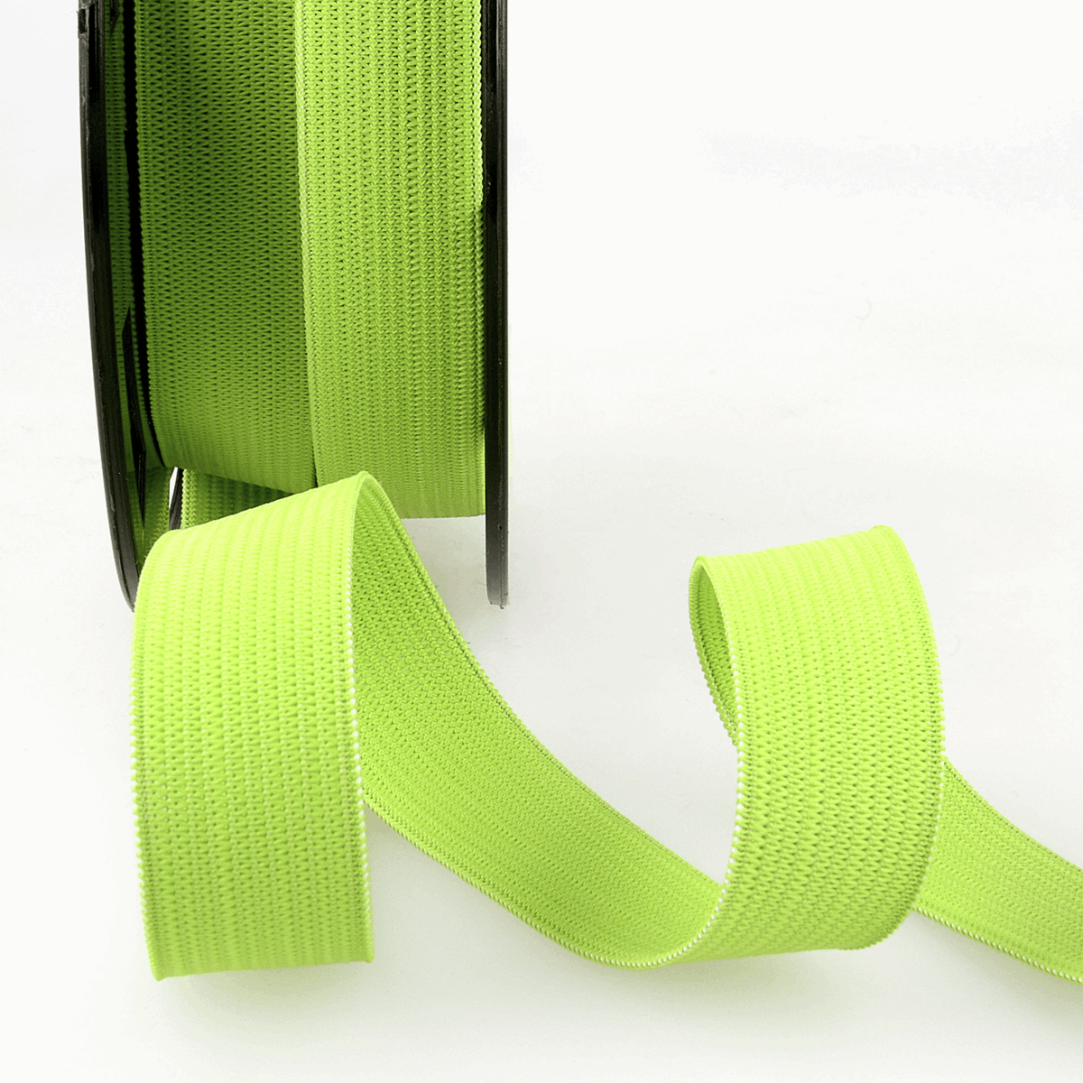 Picture of Elastic Ribbon: 50m x 5mm: Anise Green