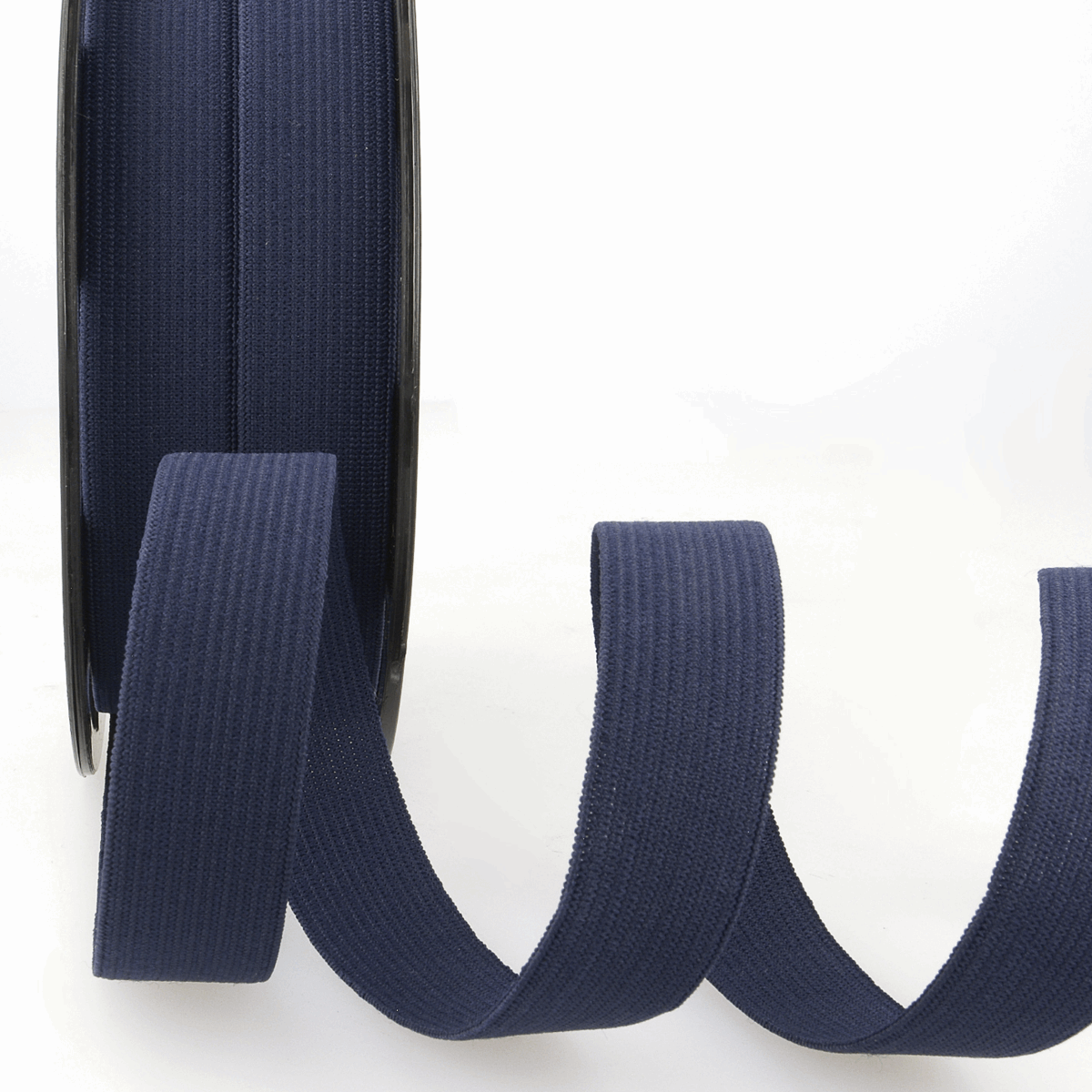 Picture of Elastic Ribbon: 50m x 5mm: Navy Blue