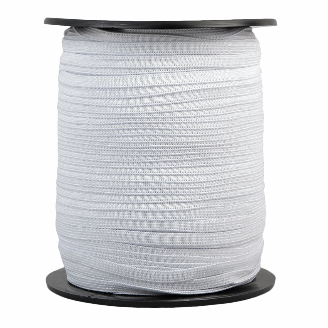 Picture of Braided Elastic: 300m x 7mm: White
