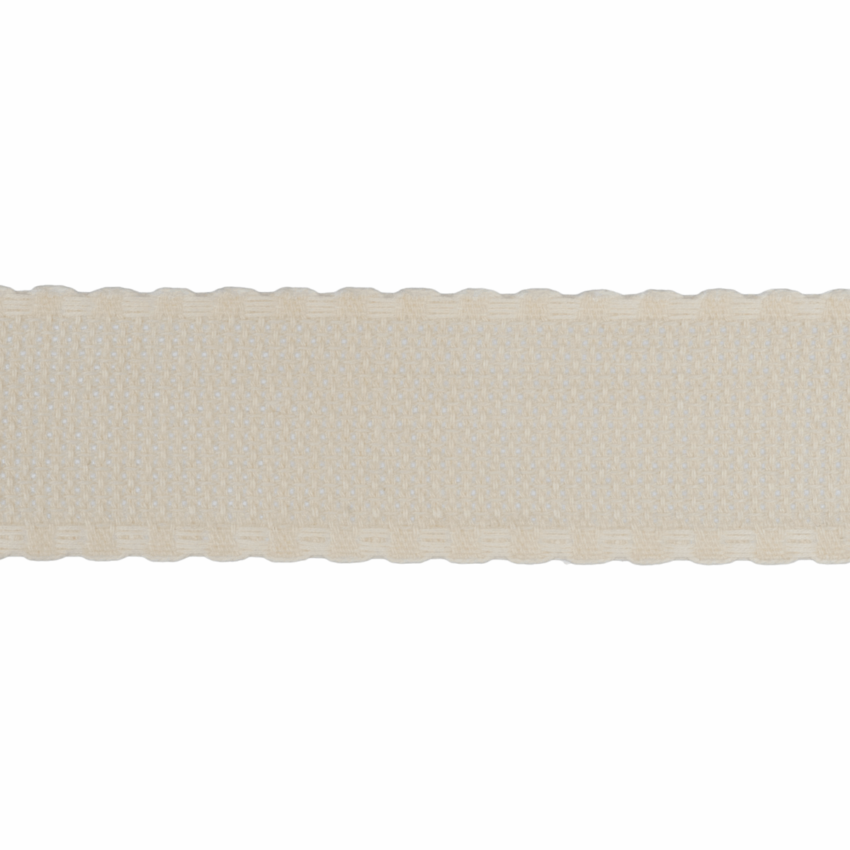 Picture of Needlecraft Fabric: Aida Band: 16 Count: 8m x 30mm: Cream