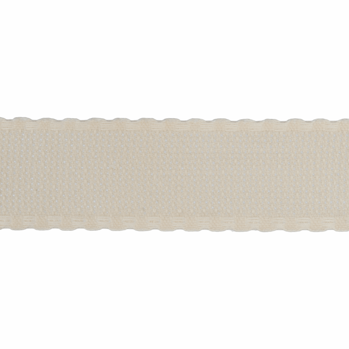 Picture of Needlecraft Fabric: Aida Band: 16 Count: 8m x 70mm: Cream