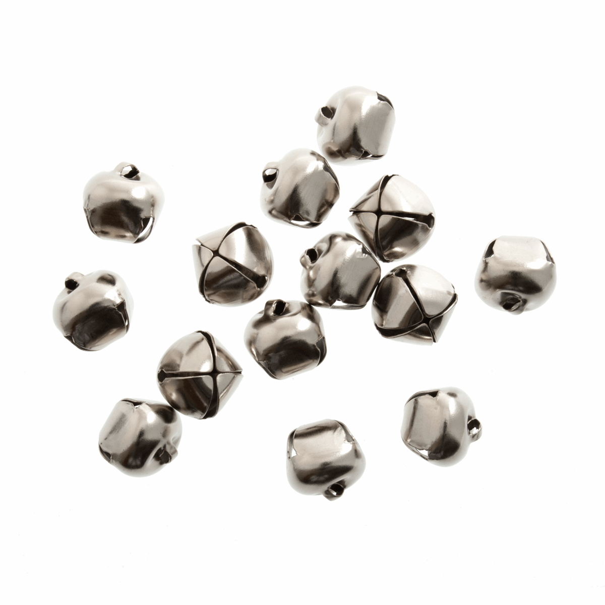 Picture of Bells: Jingle: 12mm: Silver: Pack of 100