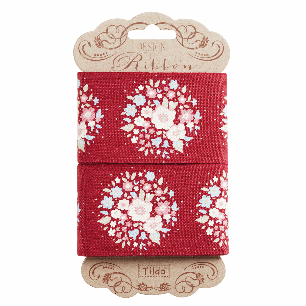 Picture of Sweetheart: Ribbon: 2m x 45mm: Thula: Carmine Red