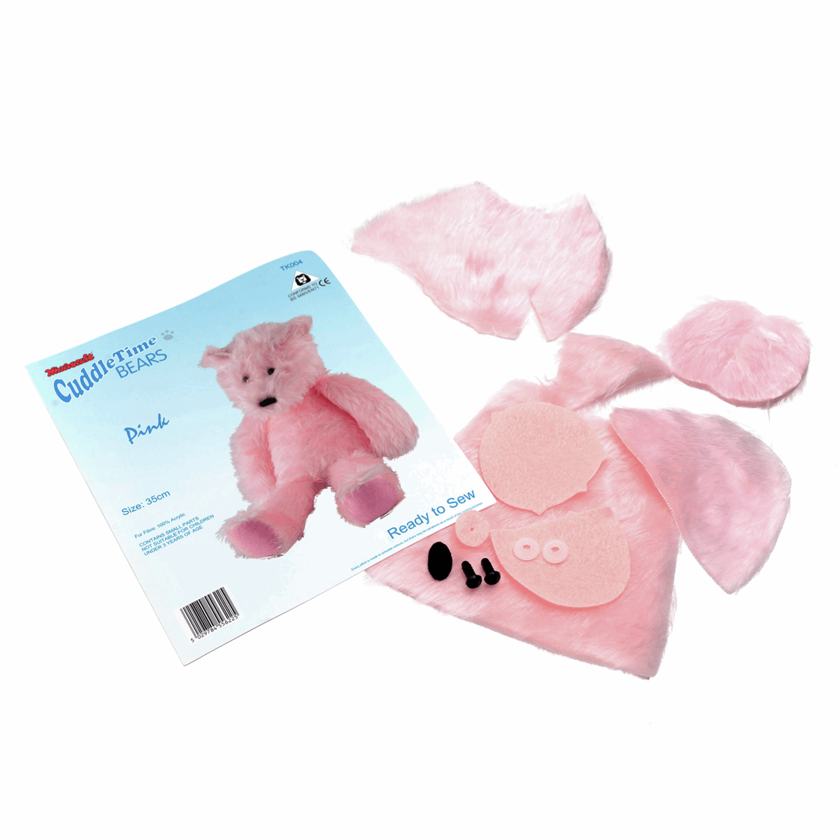 Picture of Cuddletime Bear: Pink
