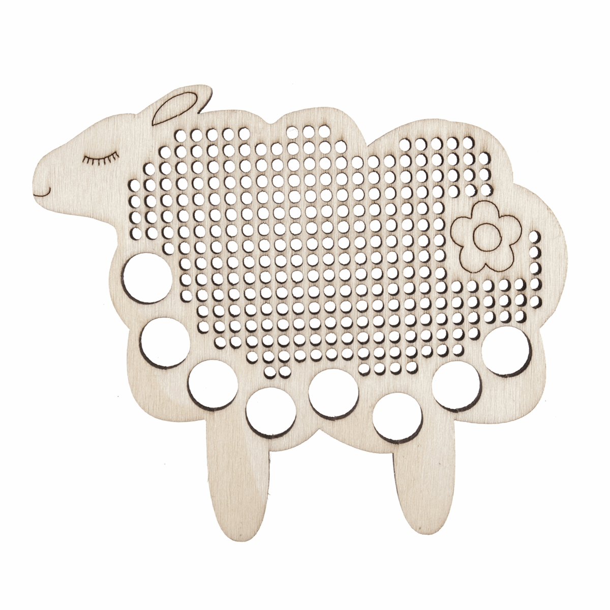 Picture of Embroidery Floss Holder: Sheep