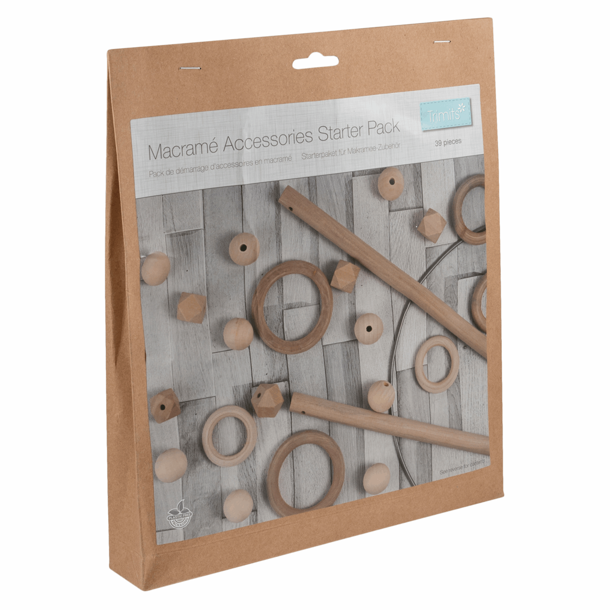 Picture of Macramé Accessories Starter Pack: 39 Pieces