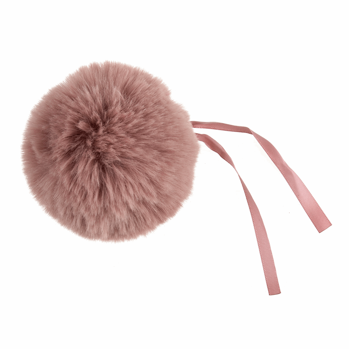 Picture of Pom Pom: Faux Fur: 11cm: 1 Piece: Pink