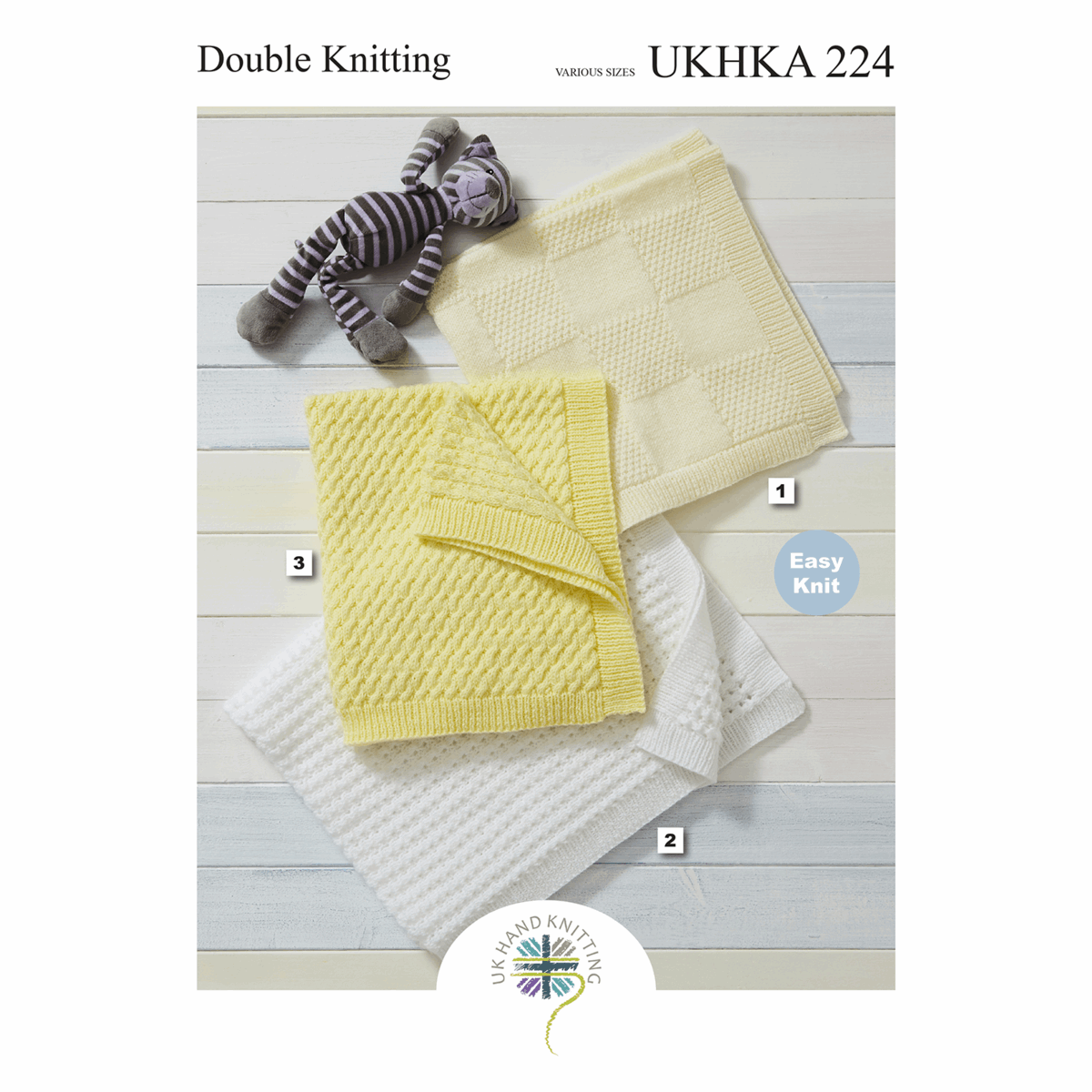 Picture of Pattern: Double Knitting: Blankets