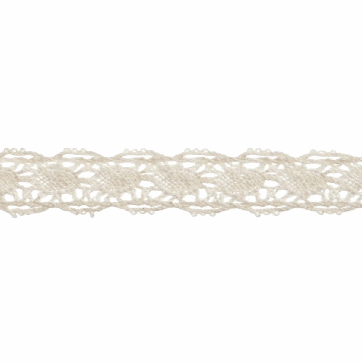 Picture of Cotton Lace: 5m x 10mm: Natural