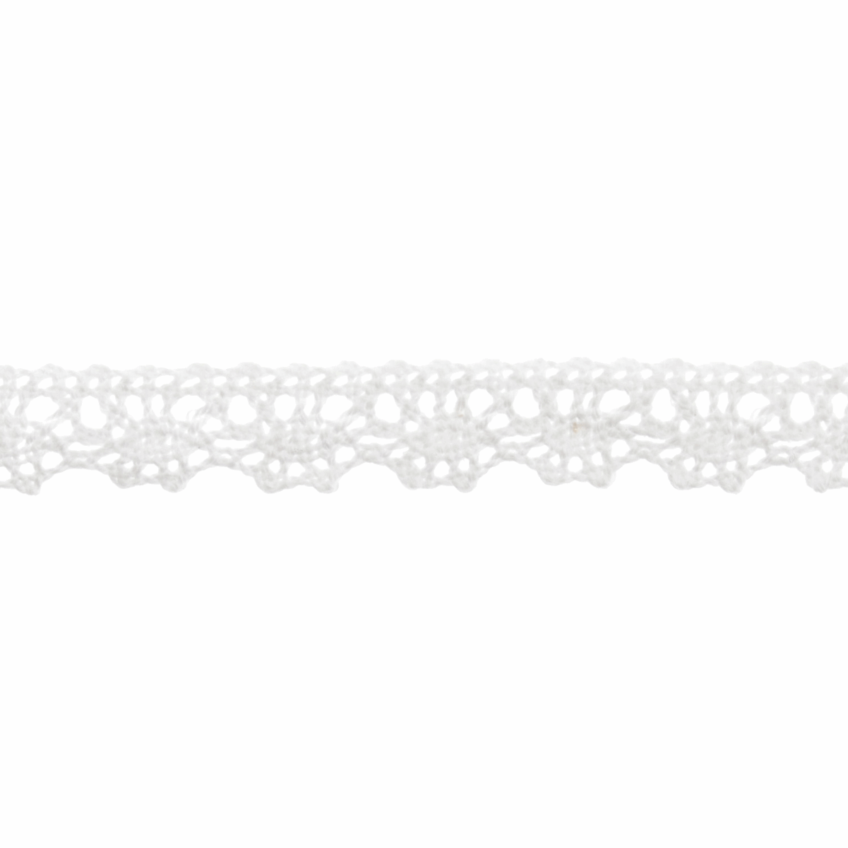 Picture of Cotton Lace: 5m x 10mm: White