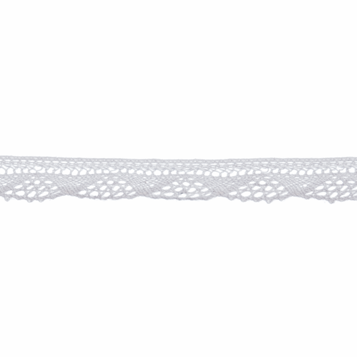 Picture of Cotton Lace: 5m x 12mm: White