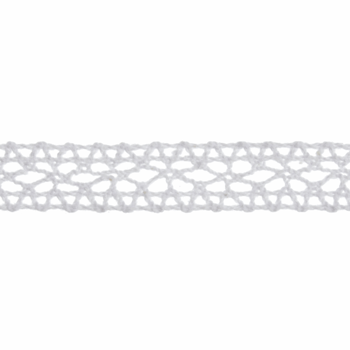 Picture of Cotton Lace: 5m x 14mm: White