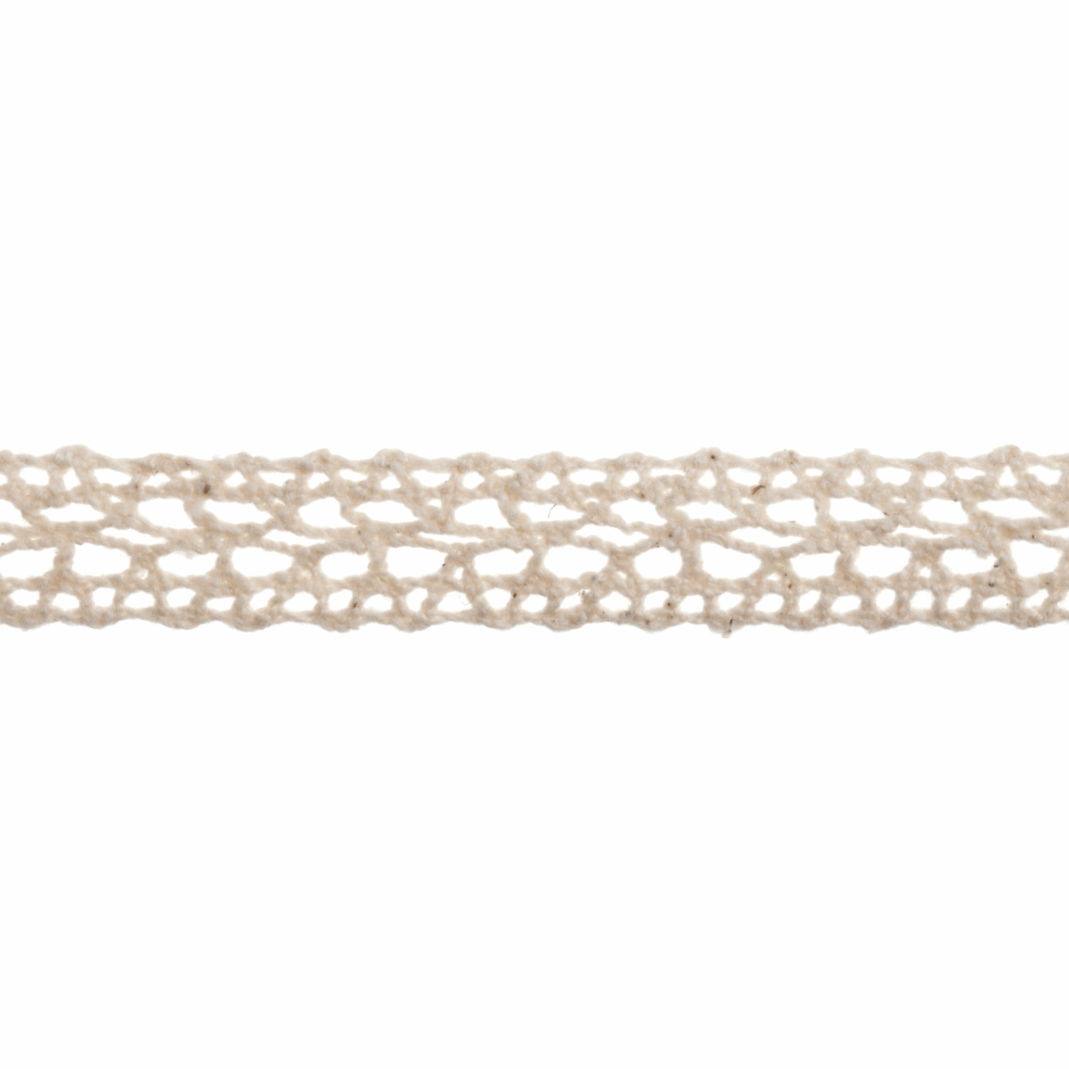 Picture of Cotton Lace: 5m x 14mm: Cream