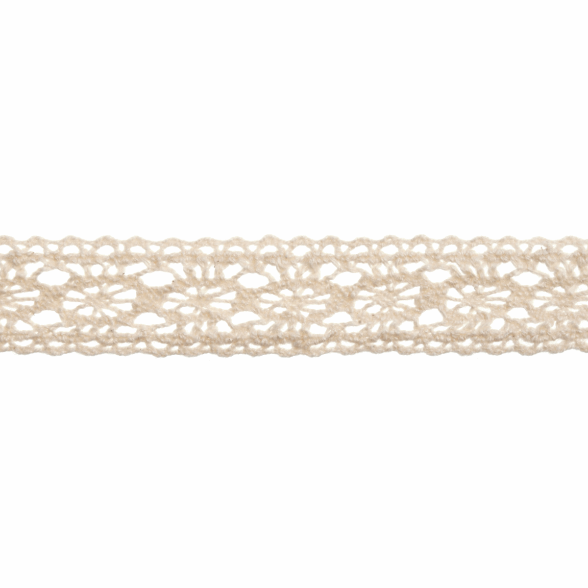 Picture of Cotton Lace: 5m x 15mm: Natural