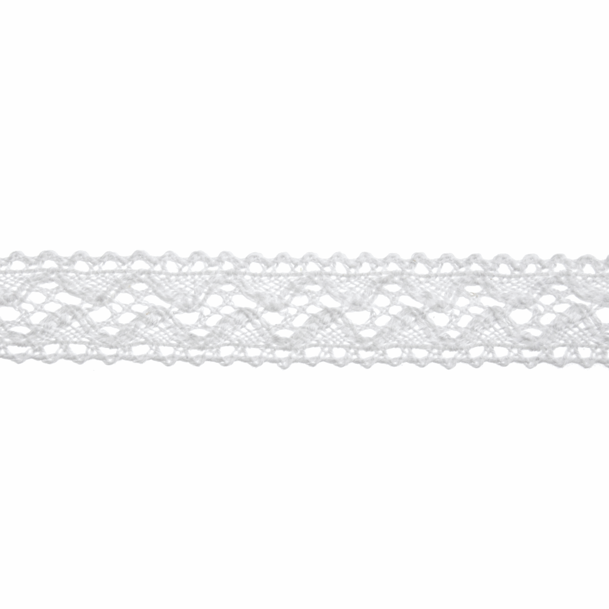 Picture of Cotton Lace: 5m x 18mm: White