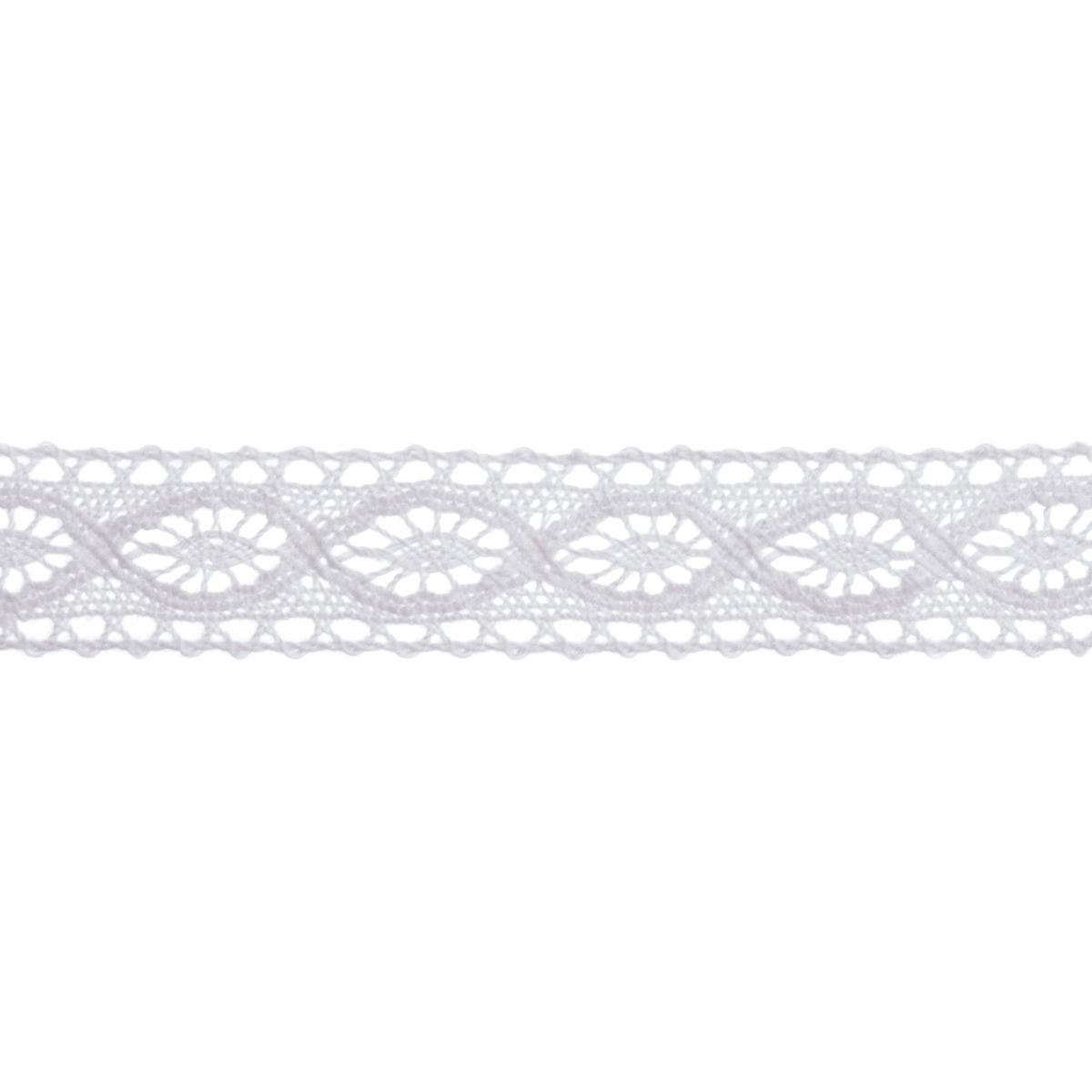 Picture of Cotton Lace: 5m x 20mm: White