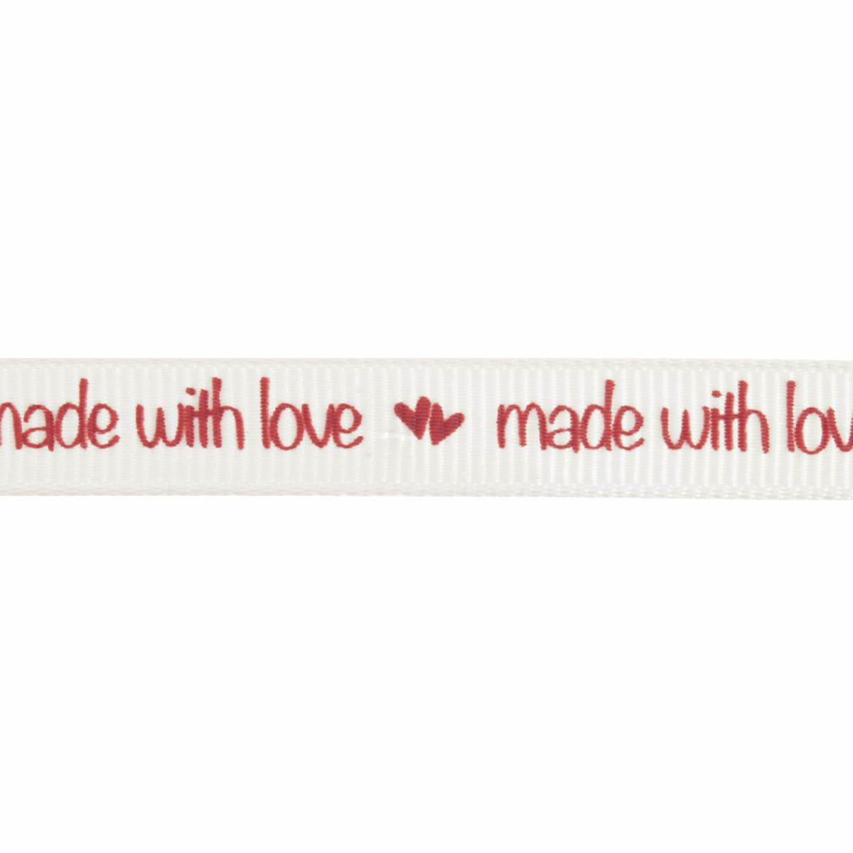 Picture of Grosgrain: 5m x 10mm: Made With Love