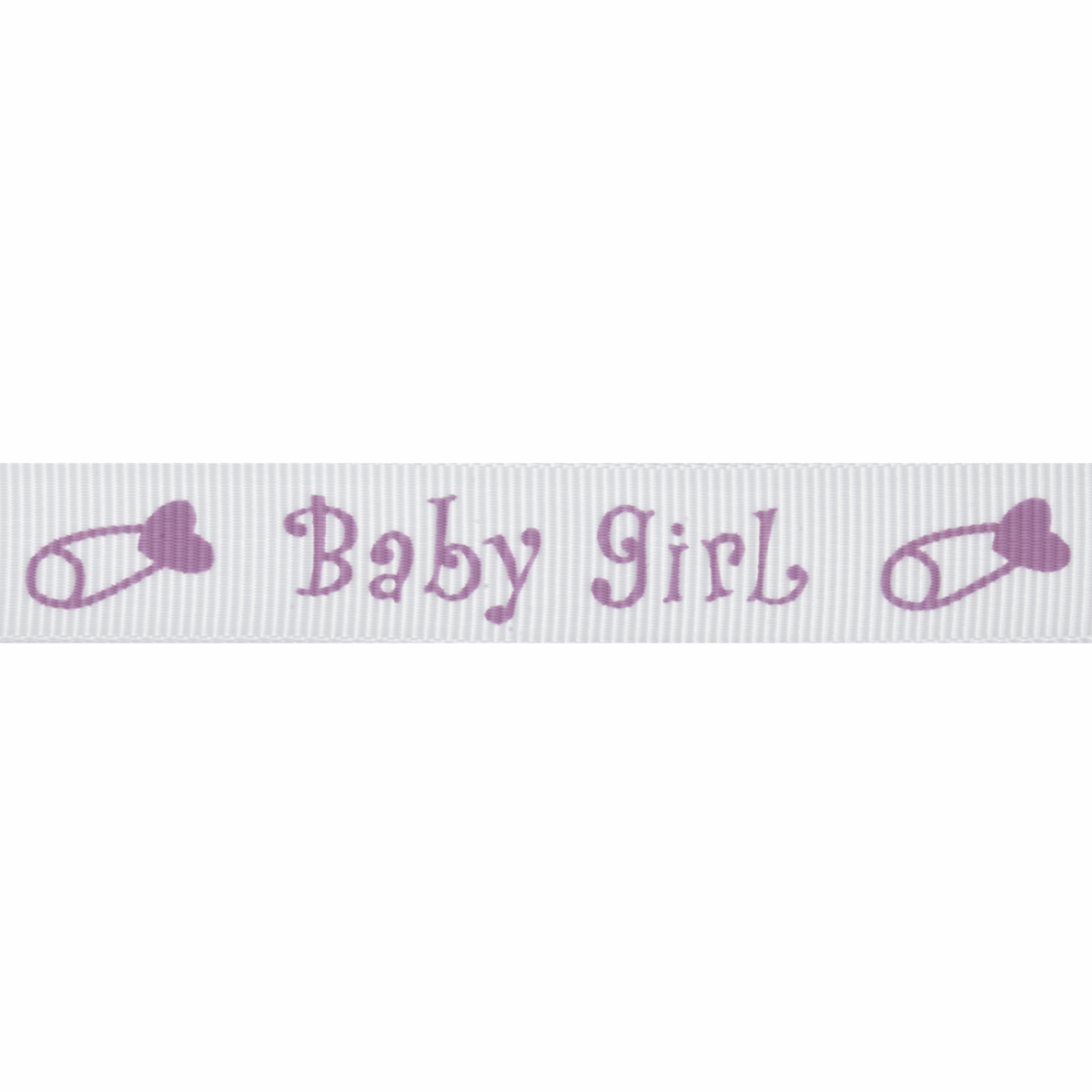 Picture of Grosgrain: 5m x 15mm: Baby Girl: Lilac
