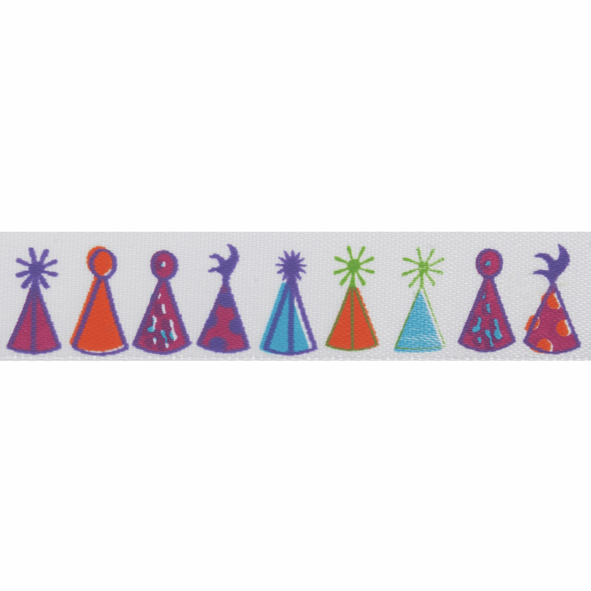 Picture of Satin: 5m x 15mm: Party Hats
