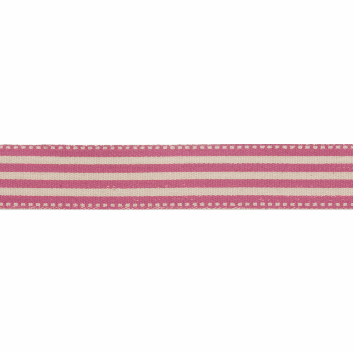 Picture of Natural: 5m x 15mm: Stripes: Pink
