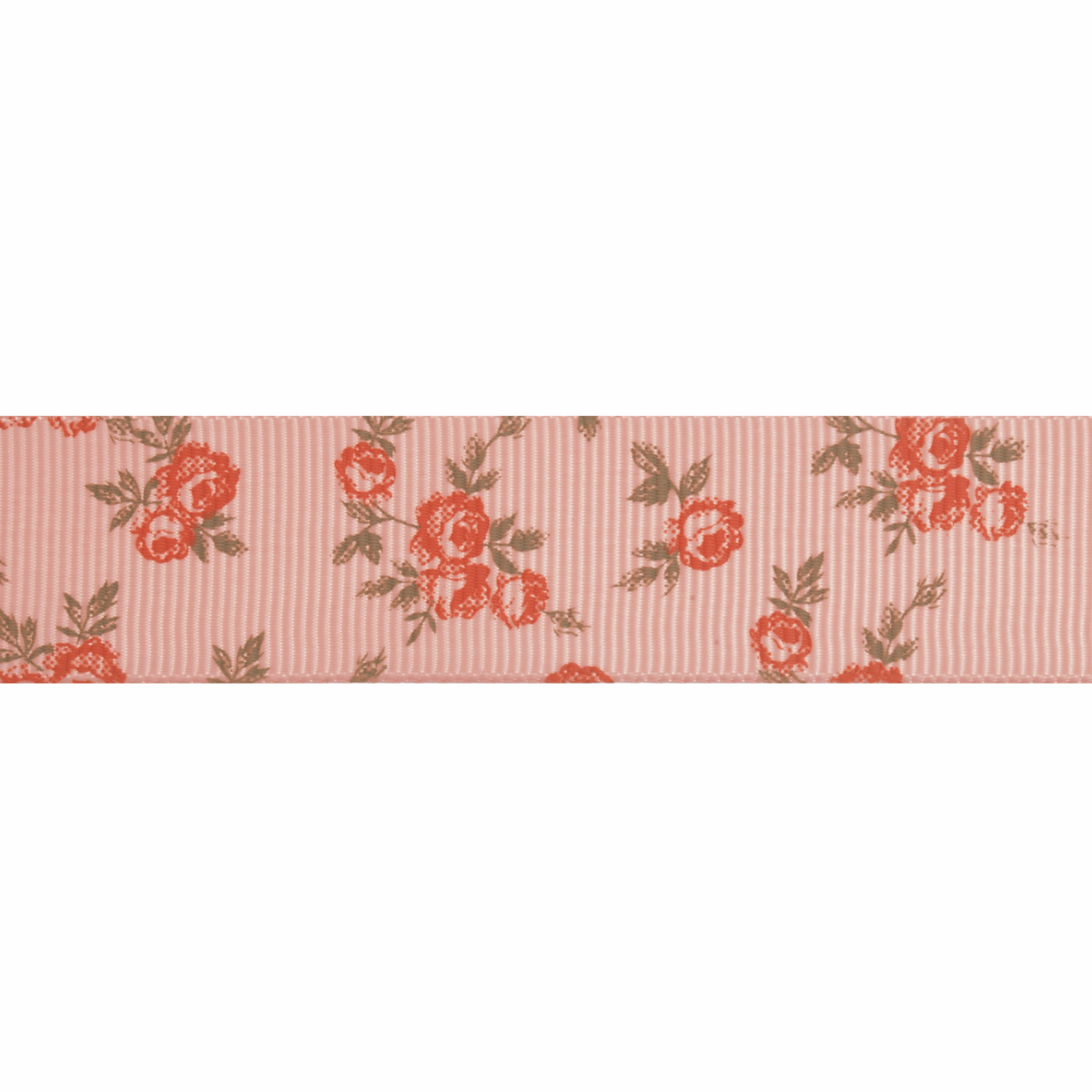 Picture of Grosgrain: 5m x 22mm: Pink Rose: Pink