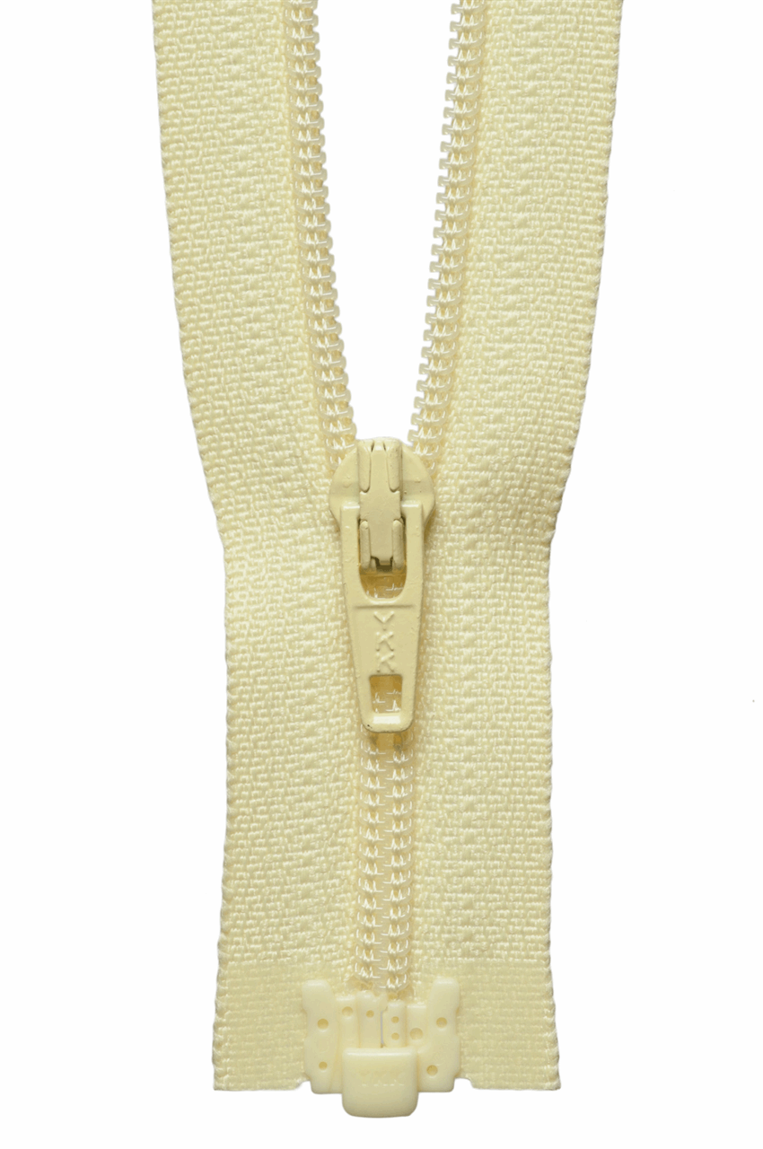 Picture of Light-Weight Open End Zip: 25cm: Daffodil