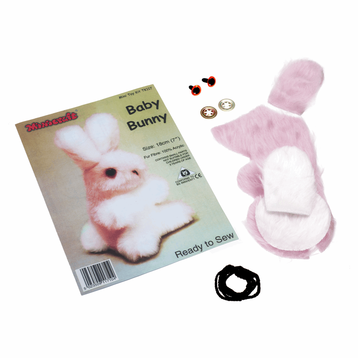 Picture of Mini Toy Kit: Bunny Pink