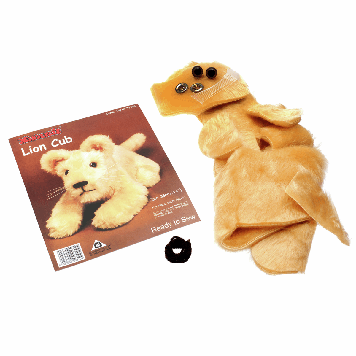 Picture of Cuddly Toy Kit: Lion Cub
