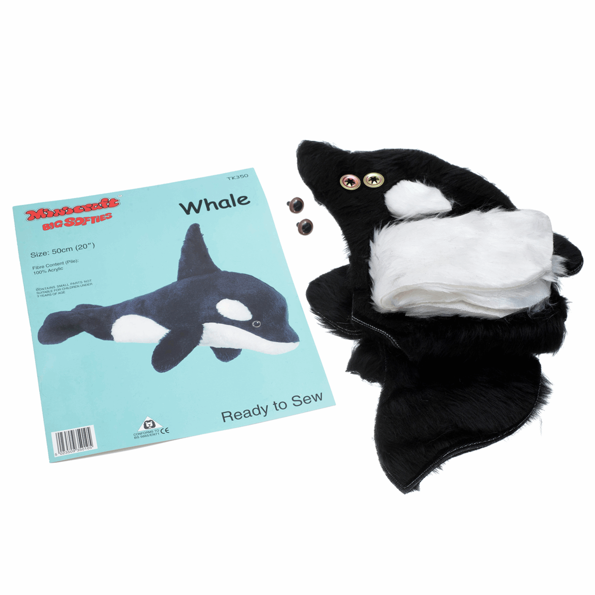 Picture of Big Softie Toy Kit: Whale