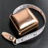Picture of Counter Display Unit: Tape Measures: Retractable: 150cm: Rose Gold: 15 Pieces